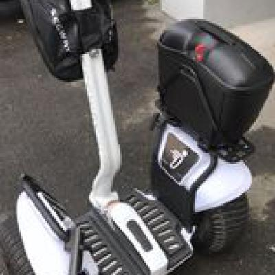 Segway James Bond Water Bulletproof