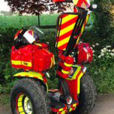 Segway Fire Hero Aero Turbo Power System